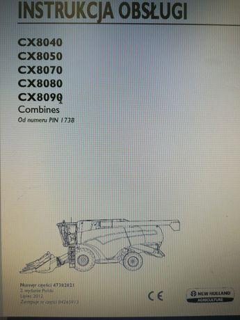 Instrukcja obsługi New Holland CX8040 CX8050 CX8070 CX8080 CX8090