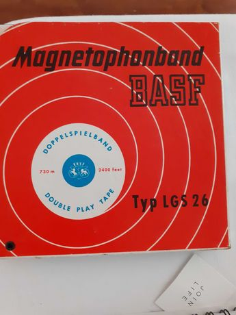 magnetophone band basf Typ lgs 26