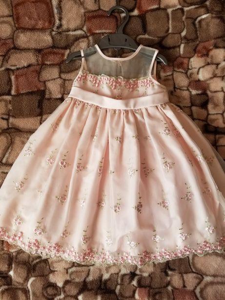 Платье пышное нарядное,святкове плаття на дівчинку