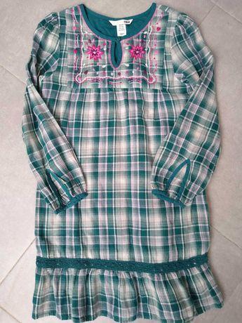 Tunika sukienka H&M kratka rozm.128