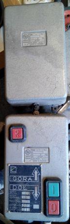Пульт электропривода для влажных помещений c пускателями на 24 вольта.