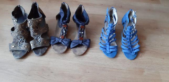 4 pary butów 40 rozm