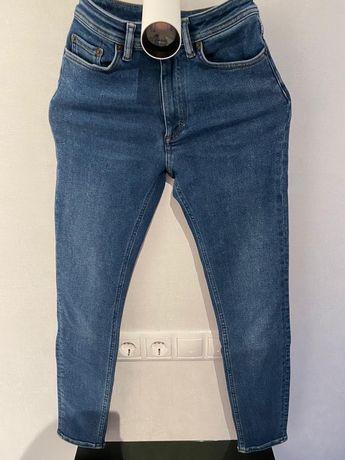 Acne Studios синие джинсы женские оригинал.