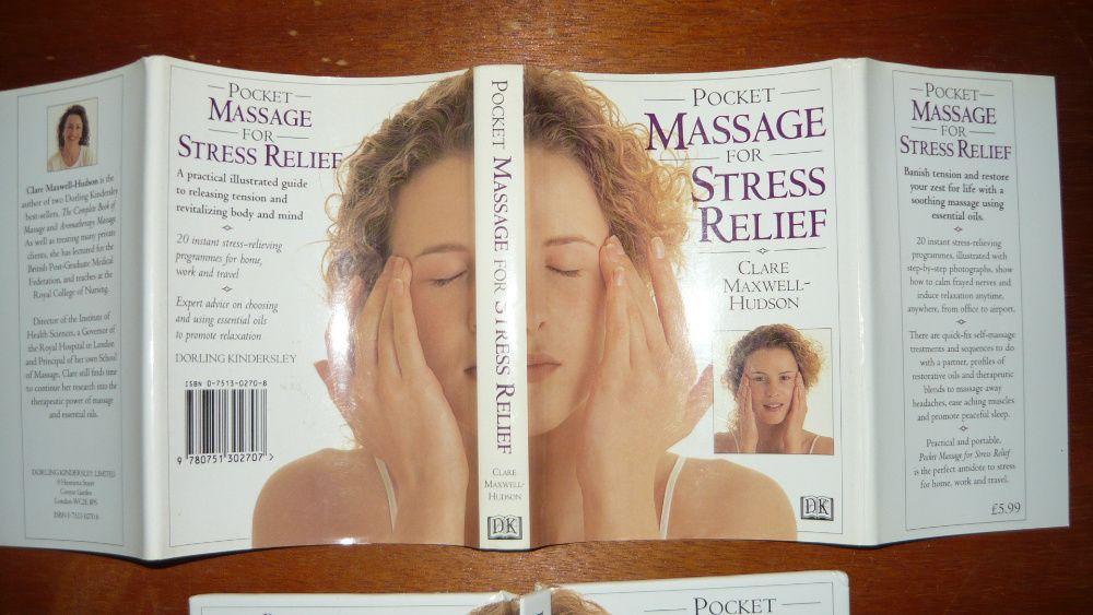 Książka o masażu kieszonkowa angielska stresu po angielsku ilustrowana Sokółka - image 1