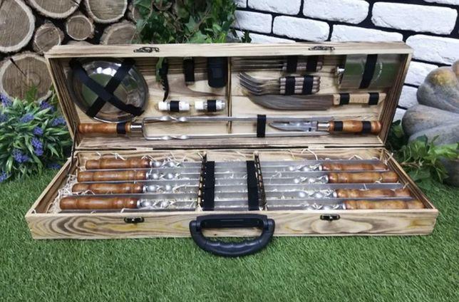 Шашлычный набор/шашличний набір/набір для пікніка