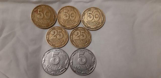 Продам монети 1992 року