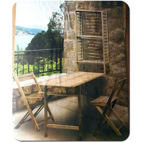 Nowy zestaw ogrodowy Krzesła, stół szafka / Drzewo Akacjowe