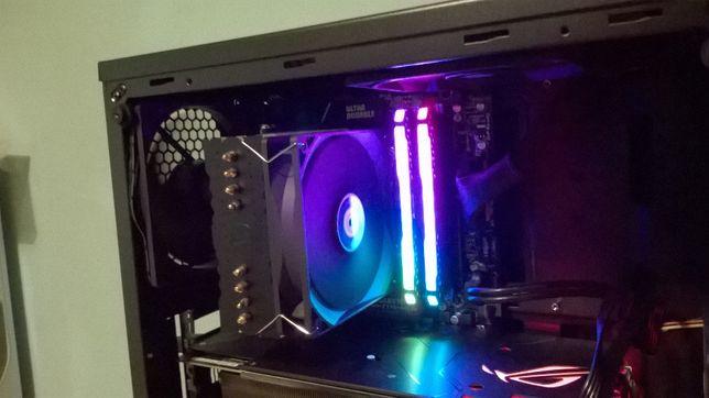 RAM Corsair Vengeance RGB PRO 32GB (2x16GB Samsung B-Die BCPB Zamiana