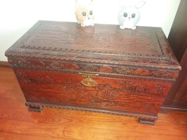 Arca/Baú madeira maciça