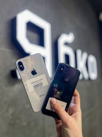 iPhone X 64/256GB Space/Silver в ідеальному стані в Ябко Стрий