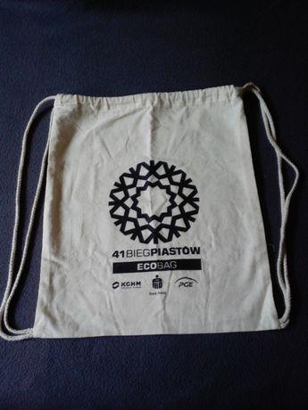 Plecak / worek materiałowy z Biegu Piastów