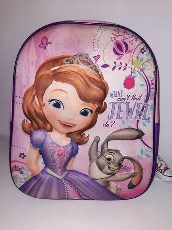 Plecak szkolny trójwymiarowy Disney  Zosia