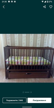 Дитяче ліжечко хороший стан