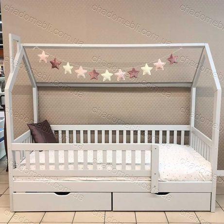 Ліжко з дерева Ольха для хлопчика для дівчинки \ кровать ДОМИК Будинок