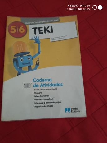 Educação Tecnologica 5º e 6º ano - cadernos de actividades
