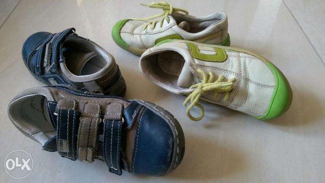 Buty lato dziecięce dwie pary