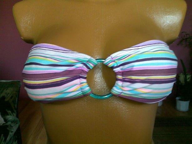 Strój kąpielowy bikini dwuczęściowy góra stanik H&M rozm. 36