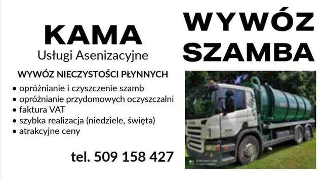 Wywóz SZAMBA - Usługi Asenizacyjne