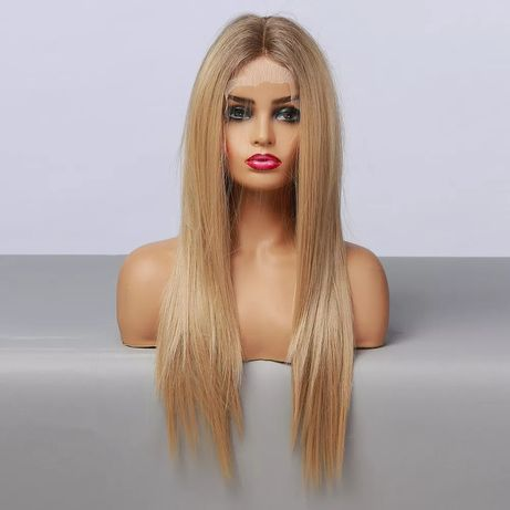 Peruka lace front blond