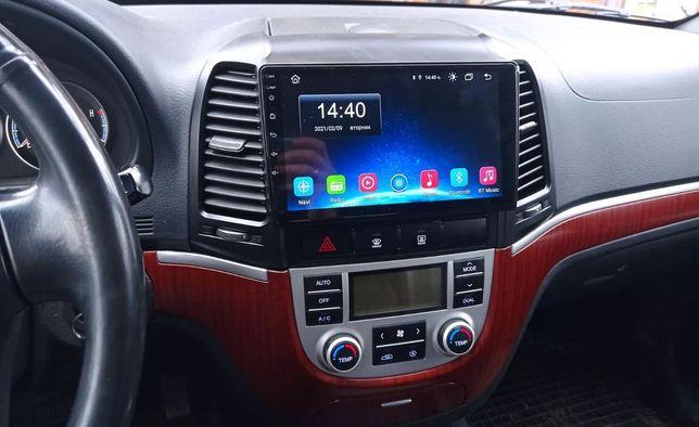 Hyundai Santa Fe 2 2006 - 2012 radio wyświetlacz android + carplay
