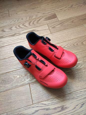 komplet buty z pedałami Bontrager Circuit, look keo 2 max