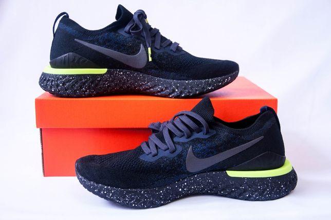 Nike Epic React FlyKNIT 2 SE Black. Розмір 42