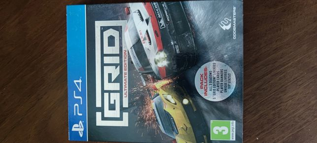 PS4 jogo grid 3 ultimate edition