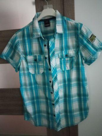 Koszula w kratkę 158