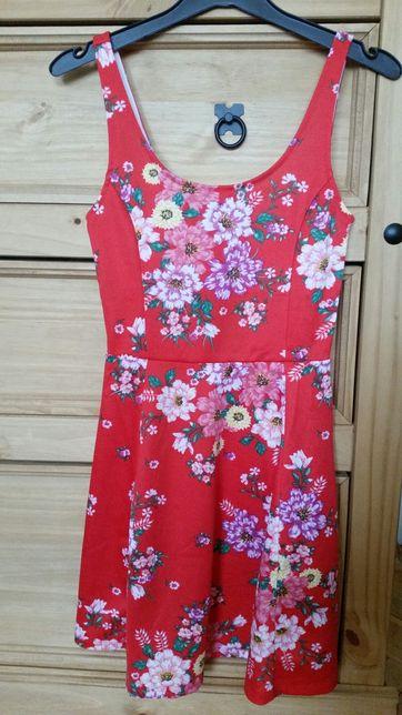 Nowa sukienka h m kwiaty rozmiar 34 xs