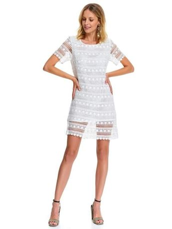 Top Secret sukienka damska biała koronkowa nowa metka