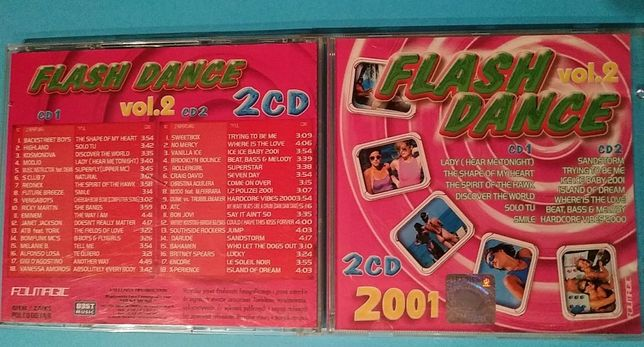 Flash Dance vol.2 - 2 CD 2001 rok