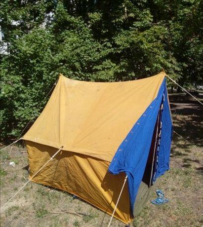 Палатка СССР брезентовая 3х местная