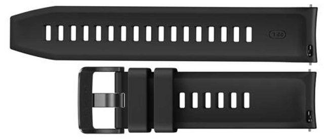 Silikonowy pasek do Huawei Watch GT / GT 2 46 mm Czarny ORYGINAŁ