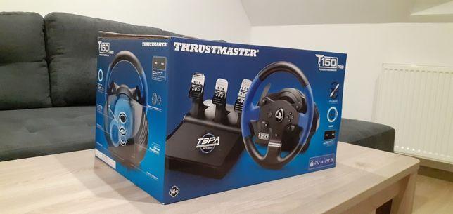 Kierownica thrustmaster t150 pro oraz dirt rally 2.0 PS4