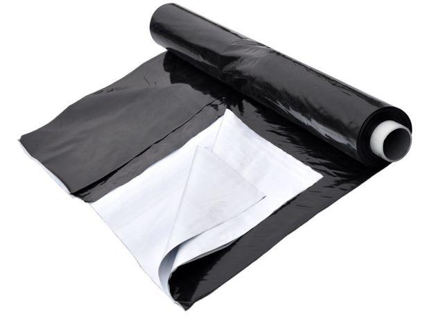 Folia kiszonkarska na pryzmy Ekstra Plus 6x33m czarno-biała