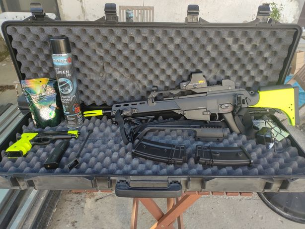 Airsoft G36, Pistola e Shotgun