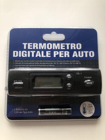 Встраиваемый цифровой термометр для автомобиля