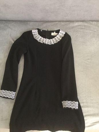 Шкільна форма, плаття чорне, школьное платье, форма школьная