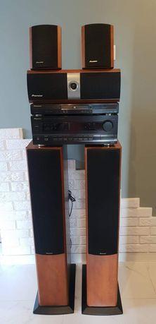 Kino domowe Pioneer VSX 609 RDS + odtwarzacz DVD