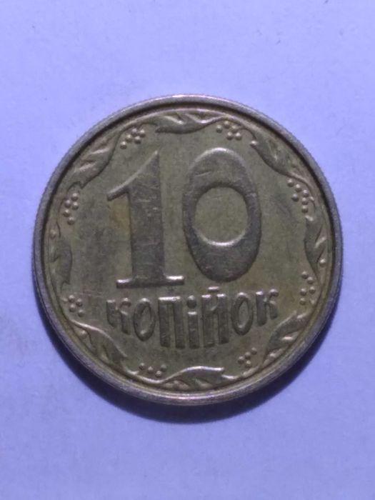 10 коп. 2004 года брак по окружности решки. Краматорськ - зображення 1