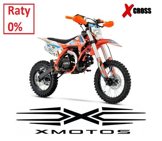 Cross 90cc 110cc 125cc X-MOTOS XB27 E-START raty 0% wysyłka dla dzieck
