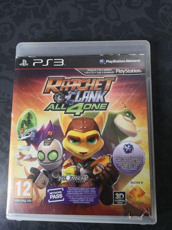 Gra Ratchet and Clank All 4 One Ps3 Dla Dzieci