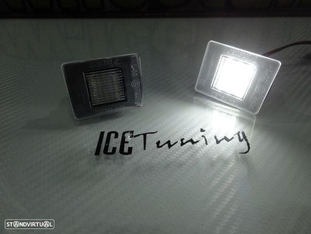 Suporte de lâmpada de matricula com led branco Mercedes Classe A W176 GLA W156 SLK GL GLE VITO