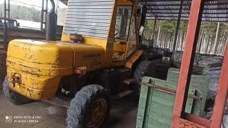 Wózek widłowy ładowarka Manitou JCB sambron