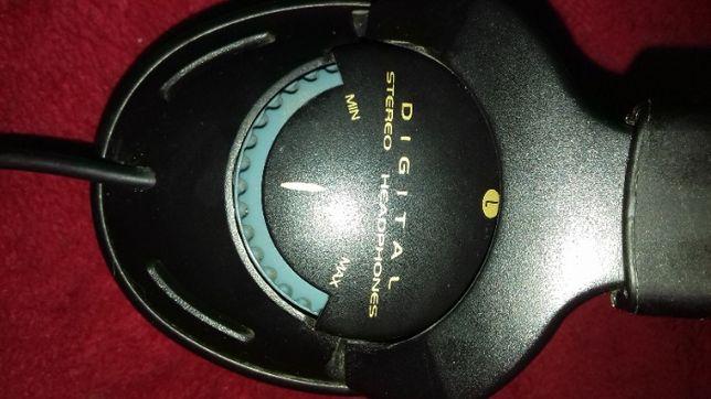 Słuchawki do wykrywacza metali gruby i cienki jack.
