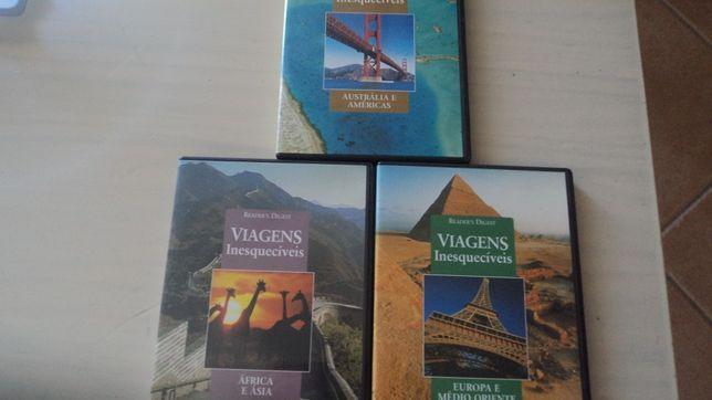 3 CD´s-Viagens Inesquecíveis de Reader's Digest