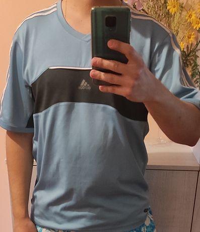 Koszulka sportowa Adidas niebieska M