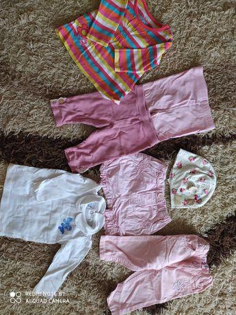 Ubranka dla dziewczynki r. 62