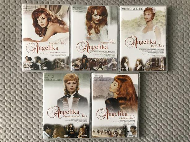 """""""Angelika"""" - Kolekcja 5 DVD (komplet) - polski lektor"""