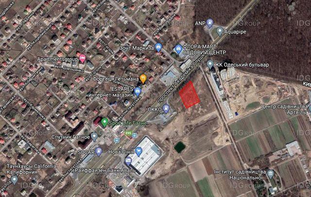 Земельный участок 60 соток на Одесской трассе